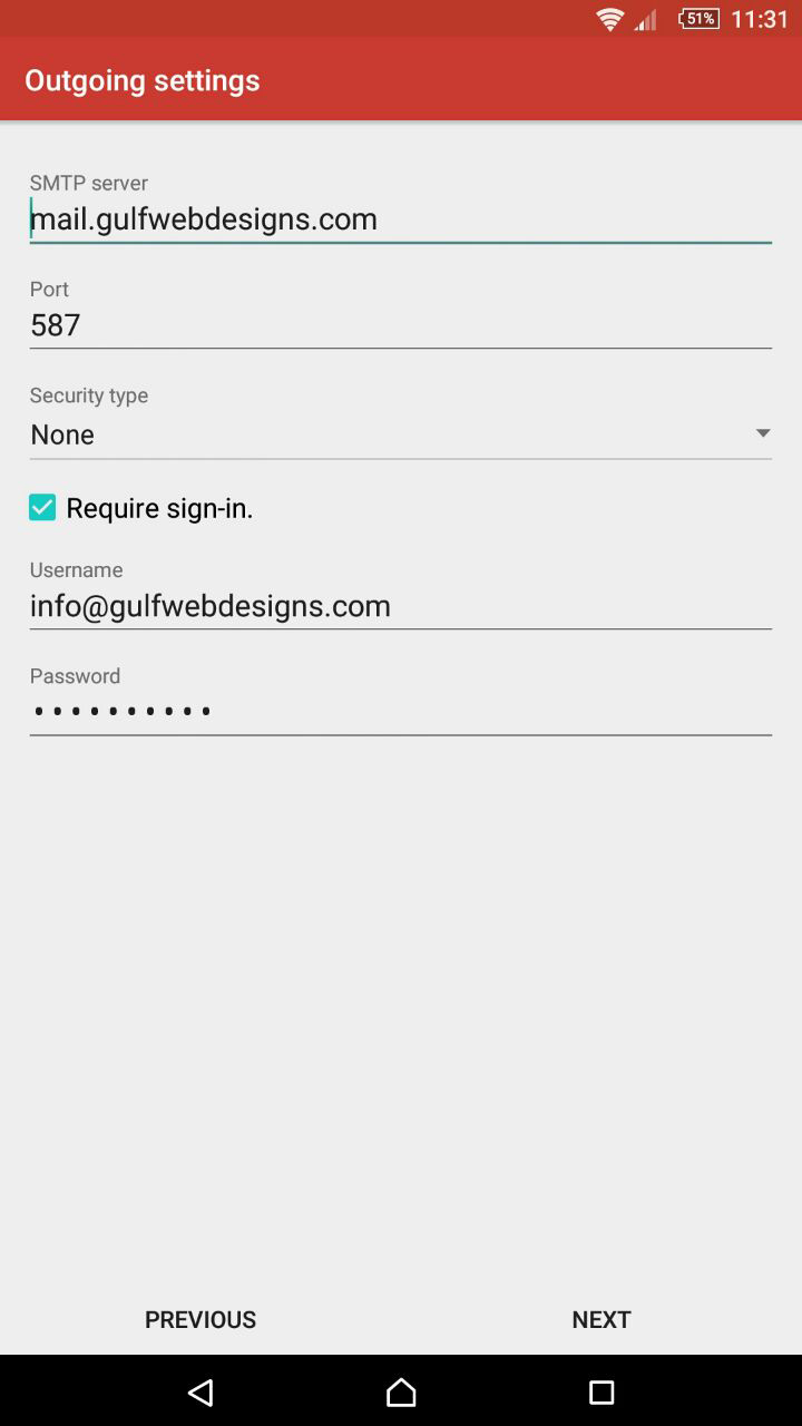webmail to mobile